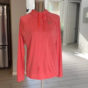 Under Armour Pull Over Pink Hoodie